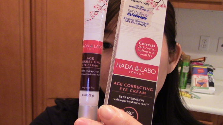 HADA LABO Tokyo | Age Correcting Eye Cream | recommend it | effortlessruth