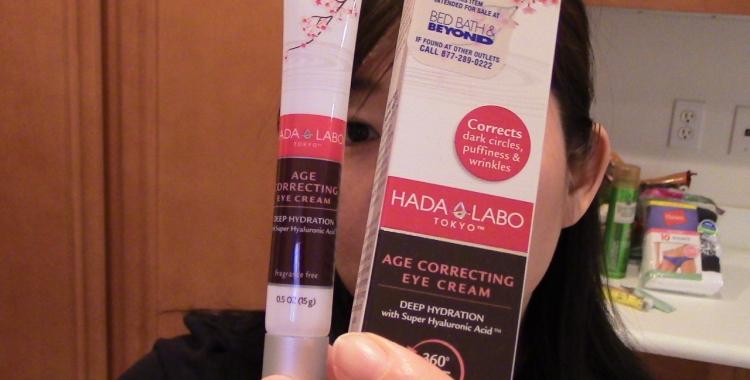 HADA LABO Tokyo | Age Correcting Eye Cream | recommend it | effortlessruth