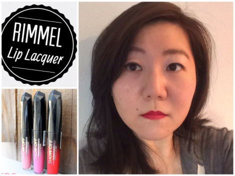 RIMMEL Lip Gloss Lip | Lacquer Stellar 501| LOVE it | effortlessruth